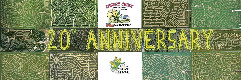 20th Cherry Crest Farm Anniversary